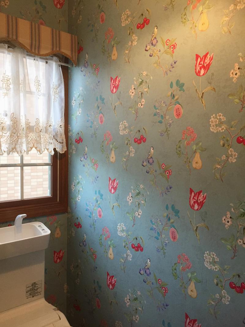部屋のイメージがかわる いろいろなタイプの壁紙 輸入壁紙 クロス ボーダー壁紙 輸入ファブリックのテシード